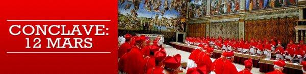Le Conclave débutera le mardi 12 mars