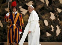 François rencontrera Benoît XVI le 23 mars prochain