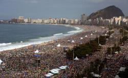 Trois millions de fidèles pour la messe conclusive des JMJ