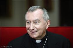 Mgr Parolin signe son premier message en tant que secrétaire d'État