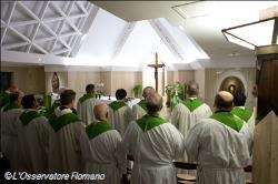 « Les scandales de l'Église viennent de l'absence de vraie relation avec Dieu »