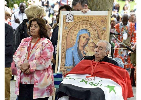 Lourdes en prière pour les chrétiens d'Orient