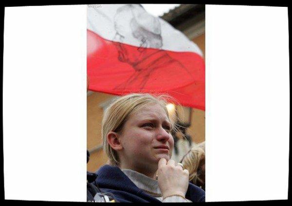 Le Parlement polonais reçoit une relique de Saint Jean-Paul II