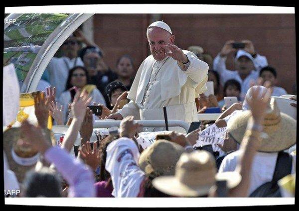 Le Pape François défend la famille, même blessée, au Chiapas
