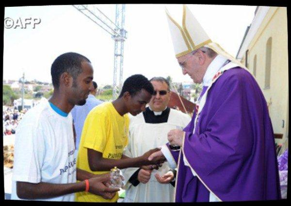 Lampedusa, trois années après la visite du Pape François