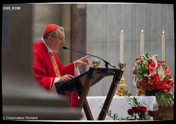 Le cardinal Parolin revient sur l'Arménie et le Caucase