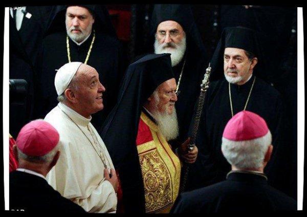 Symposium inter-chrétien : le Pape et Bartholomée Ier appellent à réévangéliser l'Europe