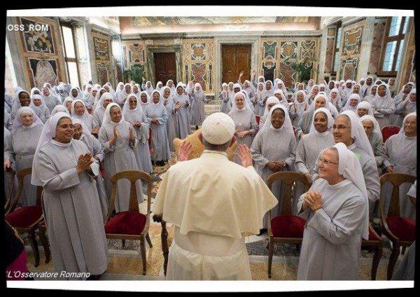 Le Pape salue le «service précieux» des religieuses hospitalières