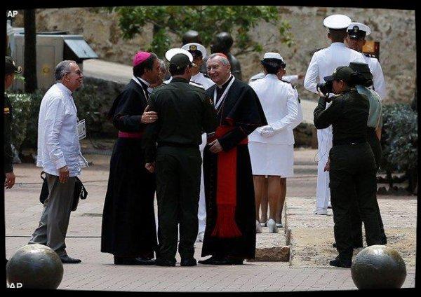 Accord de paix en Colombie : la cardinal Parolin encourage la construction d'un «avenir meilleur»