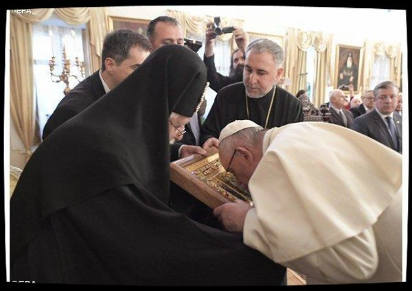 La visite fraternelle du Pape François au patriarcat orthodoxe de Géorgie