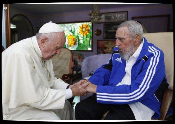 Condoléances du Pape François à Cuba après le décès de Fidel Castro