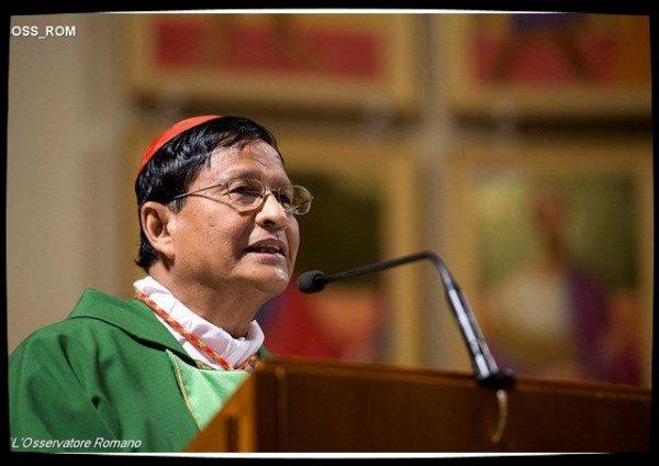 Birmanie : le cardinal Bo appelle à l'unité pour une année de paix