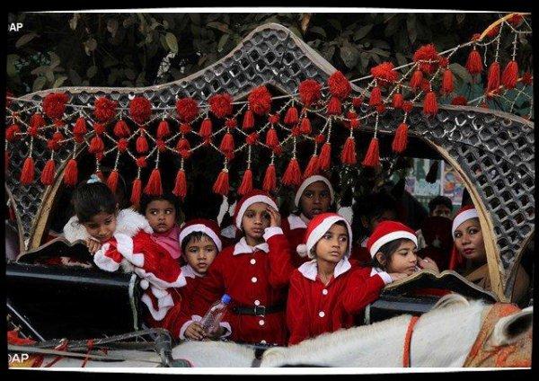 Au Pakistan, un train de Noël pour la tolérance religieuse