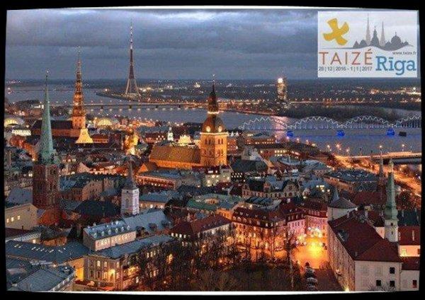 Nouvel an à Riga avec Taizé: la force de la rencontre