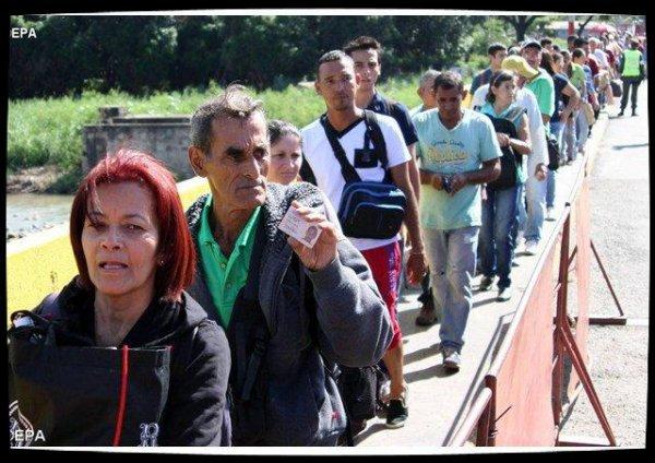 Les Colombiens invités à la solidarité avec les Vénézuéliens