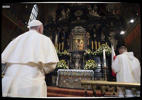 2017 : commémoration du couronnement de la Vierge de Czestochowa