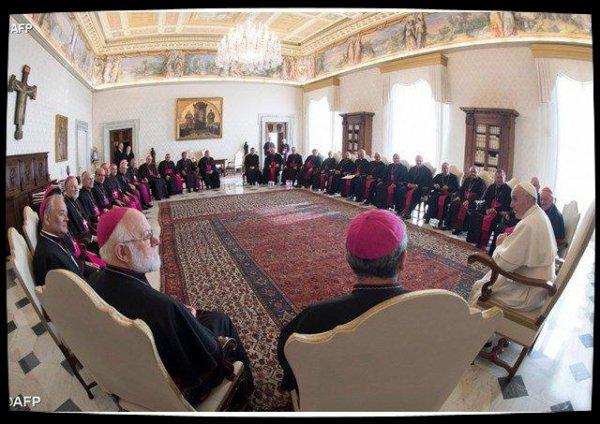 Trois heures de discussion entre le Pape et les évêques chiliens