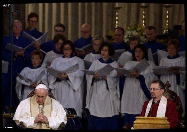 Homélie du Pape prononcée à la paroisse anglicane de Rome