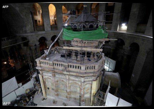 Tombeau du Christ : une célébration oecuménique pour la fin des travaux