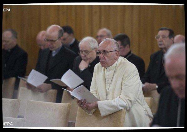 Début de la retraite de Carême du Pape et de la curie à Ariccia