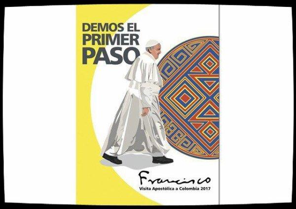 Faisons le premier pas : voyage du Pape en Colombie en septembre