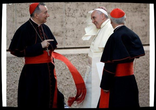 Le cardinal Parolin «remercie le Seigneur» pour les quatre ans de pontificat du Pape François