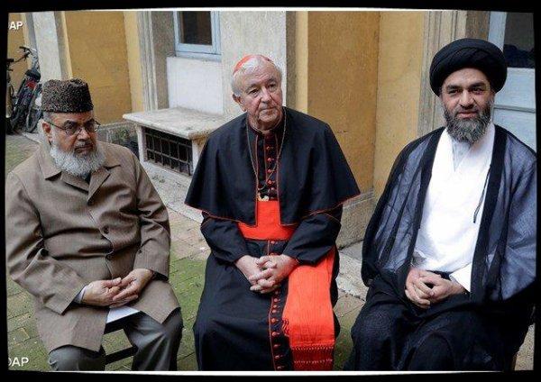 Le Pape rencontre des responsables musulmans britanniques
