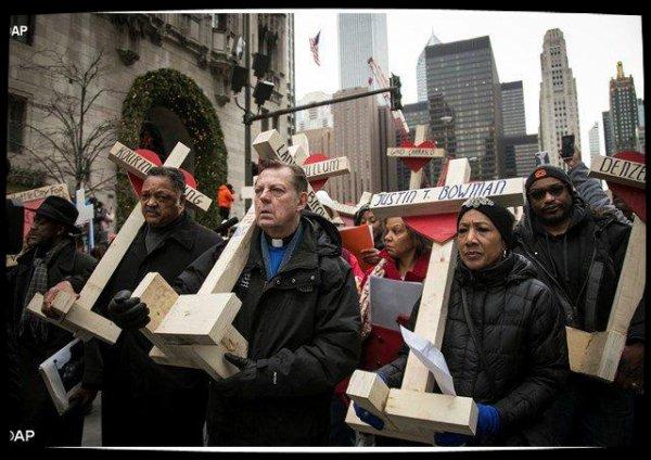 Le Pape apporte son soutien à une campagne de non-violence à Chicago
