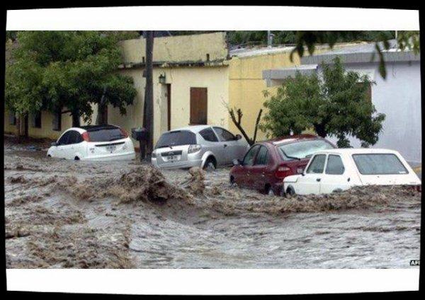 La compassion du Pape pour les victimes des inondations en Argentine