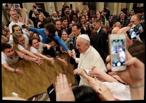 Veillée de Prière du Pape François avec les jeunes