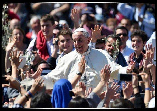 Le Pape salue les jeunes pour la 32è Journée mondiale de la Jeunesse