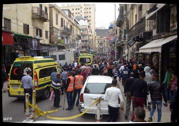 Les coptes d'Egypte frappés par l'EI en pleine fête des Rameaux
