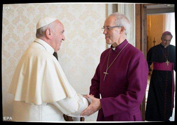 Le primat anglican Justin Welby appelle à l'«½cuménisme d'action»