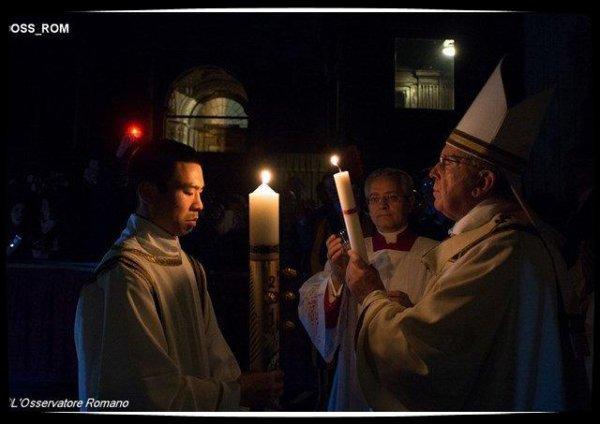 Homélie du Pape François pour la Veillée Pascale