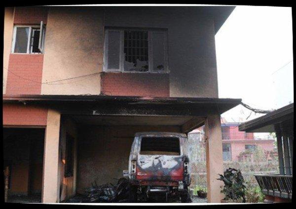 Népal: la cathédrale de Katmandou dégradée par un incendie