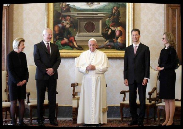 Le Pape reçoit les autorités du Liechtenstein