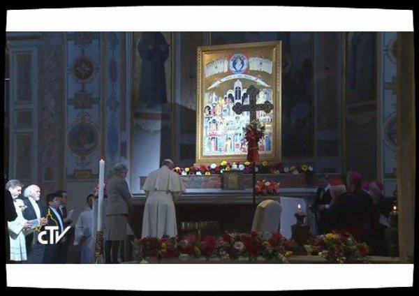 Le Pape François rend hommage aux martyrs d'hier et d'aujourd'hui