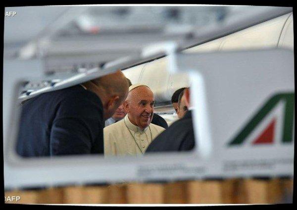 Le Pape François a quitté l'Égypte