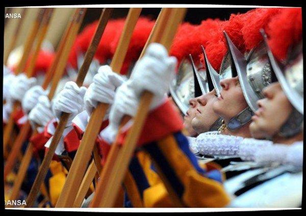 Le 6 mai, les gardes suisses prêteront serment