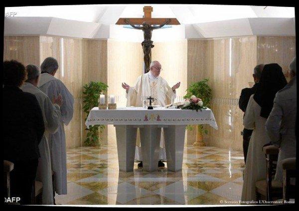 Messe à Sainte Marthe : «prions pour aider les rigides à grandir sur le chemin de la douceur»