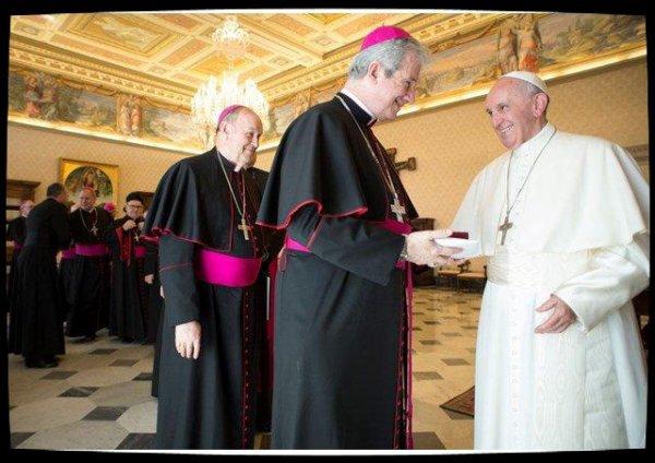 Les évêques du Québec en visite ad limina à Rome