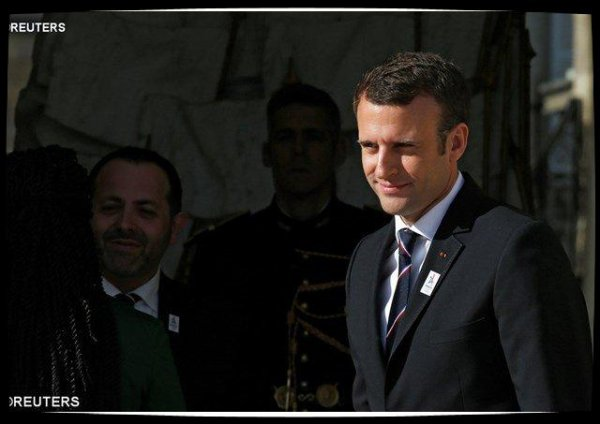 Le Pape adresse ses v½ux à Emmanuel Macron, investi président de la France