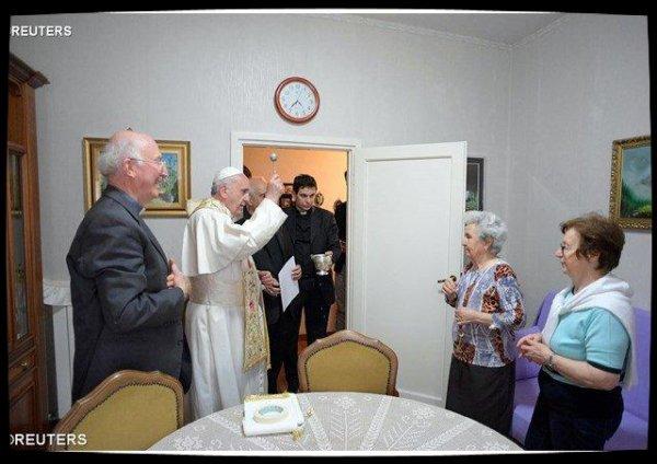 Nouveau «Vendredi de la Miséricorde» pour le Pape François