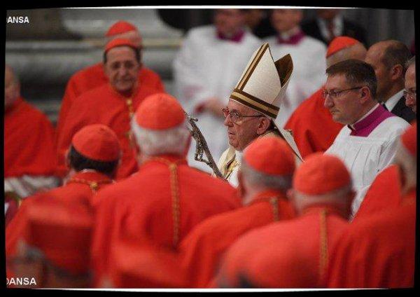 Le Pape annonce la création de cinq nouveaux cardinaux