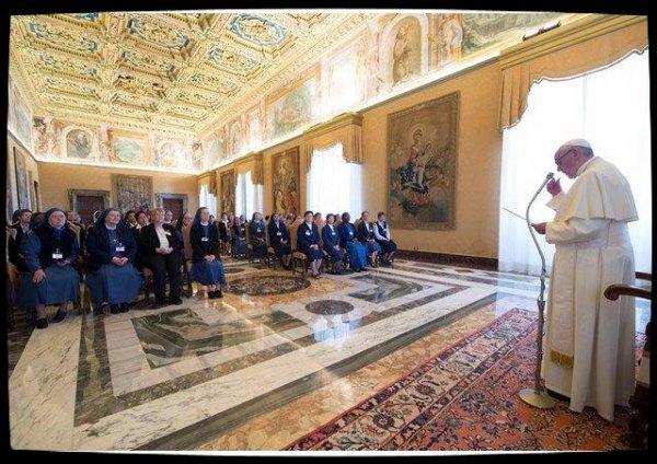 Le Pape encourage les consacrés à être prophètes d'Espérance
