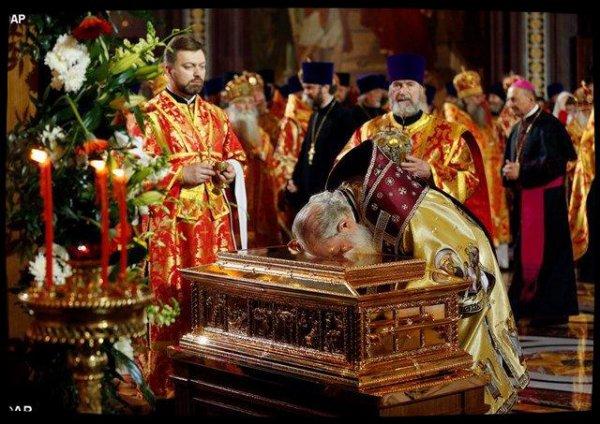 Une icône pour le Pape François : le geste de gratitude du Patriarche Kirill