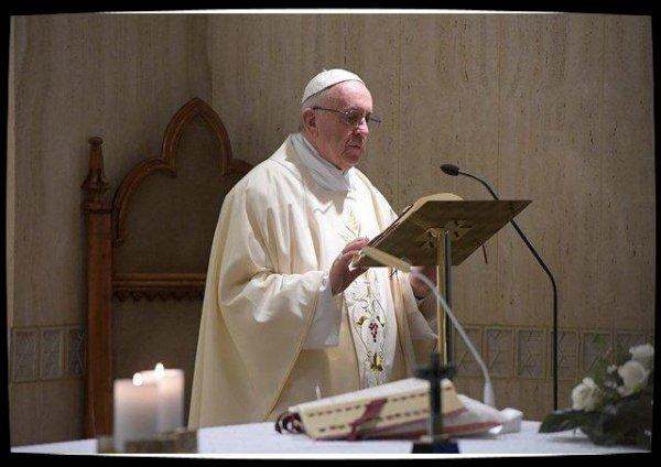 Homélie du Pape : mémoire, prière et mission, les 3 repères du chrétien