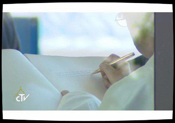 A Gênes, le Pape visite un hôpital pédiatrique