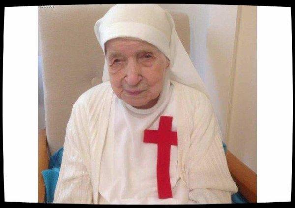 Soeur Candida Belloti, la plus ancienne religieuse du monde s'est éteinte