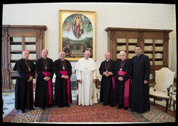 Vatican : le Pape a reçu les évêques albanais en visite Ad Limina